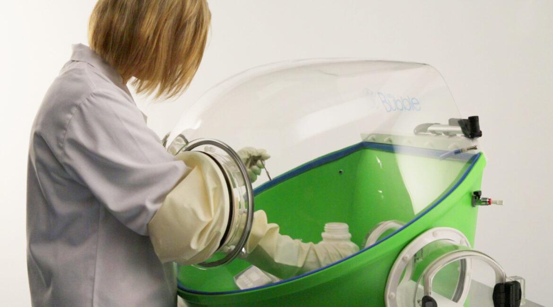 Portable Glove Box Systems - Lab Bubble